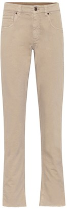 Brunello Cucinelli High-rise straight jeans