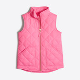 J.Crew Factory Girls' quilted puffer vest