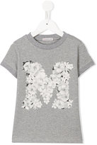 Moncler floral print T-shirt - kids - Cotton - 8 yrs