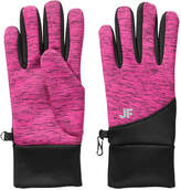 Joe Fresh Women's Print Gloves, Fuchsia (Size O/S)