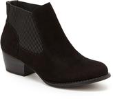 UNIONBAY Black Harper Ankle Boot - Women