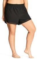 City Chic Plus Size Women's Mesh Boardie Shorts