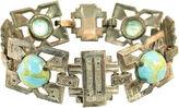One Kings Lane Vintage Egyptian Revival Turquoise Bracelet
