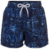 Vilebrequin Blue Father's Day Trunks