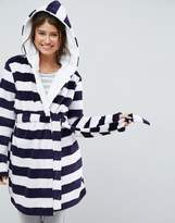 Asos Stripe Fluffy Robe
