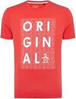 Original Penguin Graphic Crew Neck Short Sleeve T-shirt
