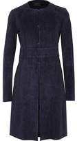 Theory Alvington Suede Coat