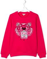 Kenzo Tiger sweatshirt - kids - Cotton - 14 yrs