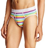 Diesel Men's Blade Striped Cotton Stretch Brief