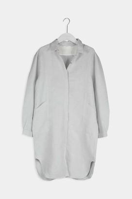 Humanoid Senna Ash Linen Blend Shirt Dress - XS
