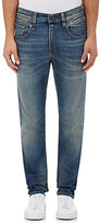 "R 13 Men's ""Boy\"" Straight-Leg Jeans-Blue Size 30"