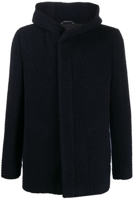 Tagliatore Curtis hooded wool-fleece jacket