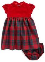 Oscar de la Renta Plaid Party Dress (Baby Girls)