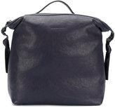 Fabiana Filippi square backpack - unisex - Cotton/Leather - One Size