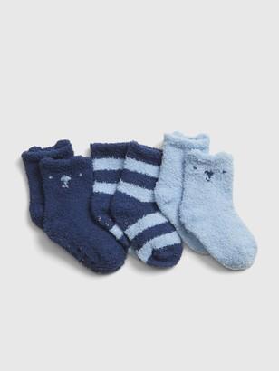 Gap Baby Fuzzy Socks (3-Pack)