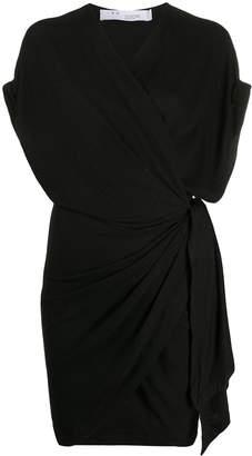 IRO short V-neck wrap dress