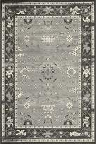 "Momeni Rugs VOGUEVG-05CHR1827 Vogue Collecion, 100% Viscose Transitional Area Rug, 1'8"" x 2'7"", Charcoal"