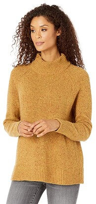 Pendleton Donegal Knit Pullover (Gold Donegal) Women's Sweater