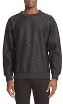 Moschino Men's Debossed Sweatshirt