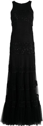Parlor Bead Embroidered Gown