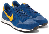 Nike - Internationalist Suede, Shell And Mesh Sneakers
