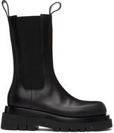 Thumbnail for your product : Bottega Veneta Black 'The Lug' Chelsea Boots