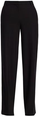 St. John Wool-Blend Side Stripe Pants