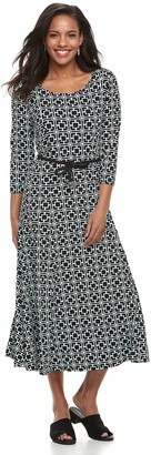 Women's Nina Leonard 3/4 Sleeve Sylvia with Hemp Belt