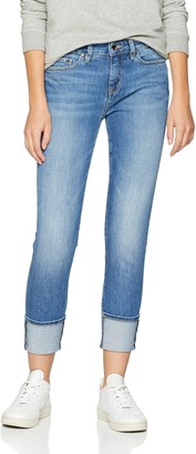 Tommy Hilfiger Women's VENICE RW ROLLED UP AVALINE Skinny Jeans