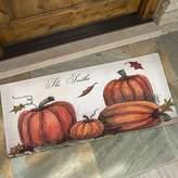 Autumn Pumpkin Patch 24-Inch x 48-Inch Door Mat
