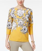 Charter Club Boat-Neck Top, Only at Macy's