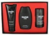 Guy Laroche DRAKKAR NOIR by Gift Set -- 3.4 Oz Eau De Toilette Spray + 3.4 Oz After Shave Balm + 2.5 Oz Deodorant...