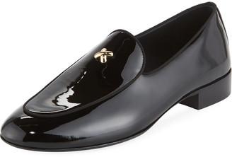 Giuseppe Zanotti Men's X Patent Leather Formal Loafer