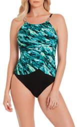 Magicsuit Aquarius Lisa Underwire One-Piece Swimsuit