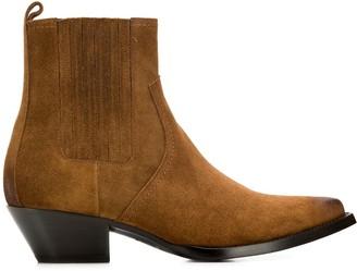 Saint Laurent pointed cowboy boots
