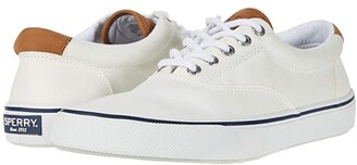 Sperry Striper II CVO Canvas (SW White) Men's Shoes