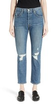 Frame Women's Le Original Distressed High Waist Jeans