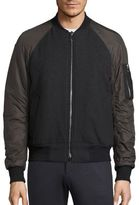 Plac Retro Spectrum Raglan Wool Blend Jacket