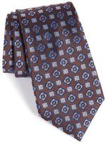 Nordstrom Men's Post Neat Medallion Silk Tie