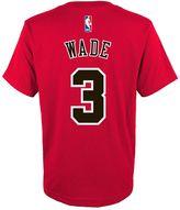 adidas Boys 8-20 Chicago Bulls Dwyane Wade Player Tee