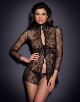 Agent Provocateur Laretta Gown Black
