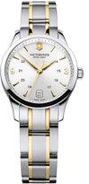 Victorinox Watch, Women's Two Tone Stainless Steel Bracelet 30mm 241543