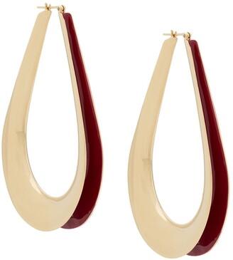 Annelise Michelson Ellipse M hoop earrings