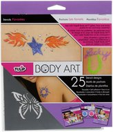 Tulip 28831 Body Art Stencil Designs Favorits