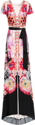 Temperley London Giselle Printed Satin-crepe Maxi Dress