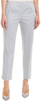 Lafayette 148 New York Cropped Side-Zip Ankle Pant