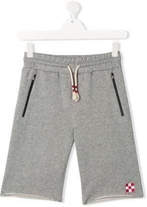 MC2 Saint Barth Kids TEEN Randle track shorts