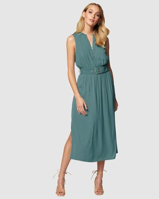 Forever New Penelope Tiered Midi Dress