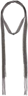 Fabiana Filippi ball chain fringe necklace