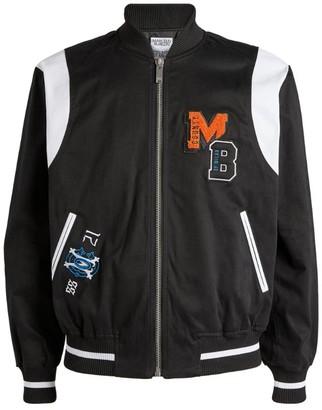 Marcelo Burlon County of Milan Varsity Bomber Jacket